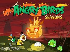 Angry Birds Seasons - A fun, ever expanding game.