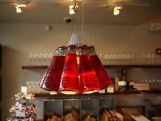 Re-purposing mini glass bottles as light...
