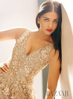 Aishwarya Rai Bachchan in a Harper's Bazaar photoshoot. #Bollywood #Fashion #Style #Beauty #Hot #Sexy