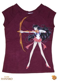 Sailor Marte - handpainted