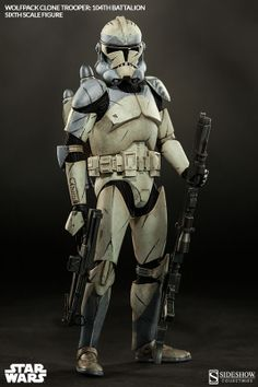 Star Wars Wolfpack Clone Trooper: 104th Battalion Sixth Scale Figure by Sideshow Collectibles