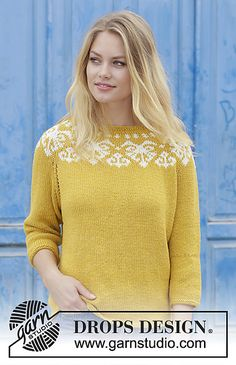 Ravelry: 187-12 Golden Heart pattern by DROPS design
