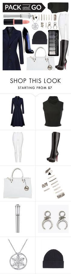 """Sin título #119"" by alita210100 ❤ liked on Polyvore featuring Brandon Maxwell, Topshop, Christian Louboutin, Michael Kors, Forever 21, Morgan Lane, Amanda Rose Collection, Jaeger and Carolina Herrera"