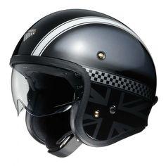Shoei J.O Hawker Casque jet Open Face Motorcycle Helmets, Open Face Helmets, Cruiser Motorcycle, Motorcycle Outfit, Riding Helmets, Women Motorcycle, Classic Motorcycle, Motorcycle Jacket, Gray