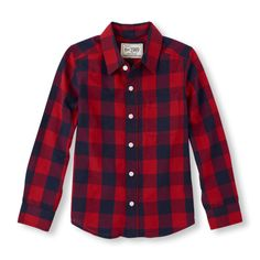 The Childrens Place - Button down or wear open with a cool tee!
