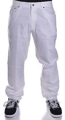 INC International Concepts Men's Milan White Linen Pants