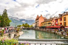Annecy canale panoramica - In Viaggio Con Monica South Of France, Beautiful, Turismo, Provence