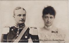 Prince Johann Georg de Saxe (1868-1938) et princesse Maria Immaculata de Bourbon-Siciles (1874-1947)