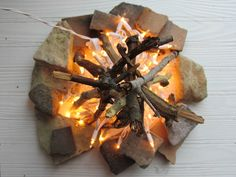October June: DIY Flameless Fire Pit