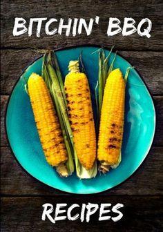 Bitchin' BBQ Recipes: Blank Recipe Cookbook, 7 x 10, 100 Blank Recipe Pages