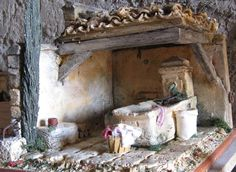 lavoir Christmas Nativity, Fairy Houses, Terrarium, Decoration, Medieval, Whimsical, Projects To Try, Miniatures, Crafts