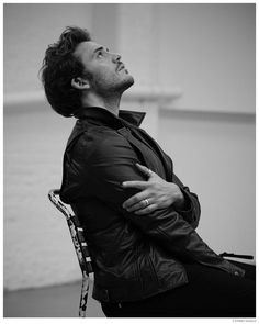 Sam Claflin Appears in LUomo Vogue Photo Shoot by Eric Guillemain
