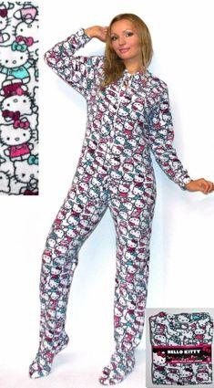 eb683b2b7 NWT Sanrio Hello Kitty Polar Fleece Footed Jumper Pajama S,M,L,Gift package  #HelloKitty #MicroPolarFleeceOnesieJumperPajama