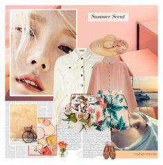 """""""Summer Scent"""" by rainie-minnie ❤ liked on Polyvore featuring Oris, Maison Michel, Dorothy Perkins, Zimmermann, Topshop, Gucci, Derek Lam and Cultural Intrigue"""
