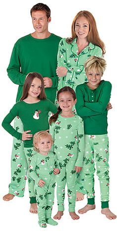 4802d4a978 Pajamas for the Whole Family. Matching Christmas pajamas for
