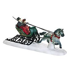 """Department 56: Products - """"Dashing Through The Snow"""" - View Accessories"""