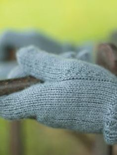 Wool Gloves from Rowan