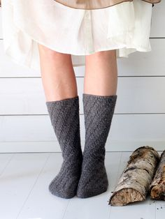 Socks without A Heel Novita Nalle (Teddy Bear) | Novitaknits