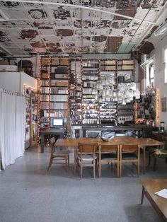 The Wurm Storefront Kitchen & Studio    House Tour