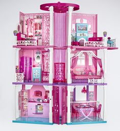 The newly designed 2013 Barbie Dreamhouse just arrived! #BarbieIsMoving