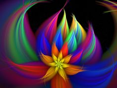 Flower of Life Fractal | rainbow breeze by capstoned digital art fractal art 2008 2014 ...