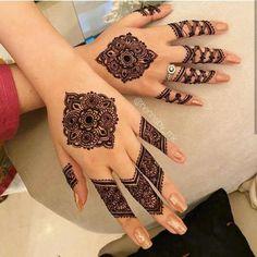 Simple Mehndi Designs Fingers, Very Simple Mehndi Designs, Finger Henna Designs, Stylish Mehndi Designs, Mehndi Designs For Girls, Mehndi Designs For Beginners, Mehndi Simple, Latest Mehndi Designs, Mehndi Designs For Hands