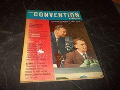 Vintage Convention Handbook Democrat & Republican John Kennedy & Nixon 1960 NBC