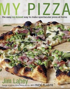 Enter to win a copy of Jim Lahey's, My Pizza!! #MondayGiveaway (enter before Tuesday,  7/15)