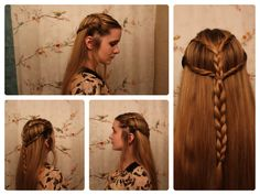 """Braids Inspired by """"The Hobbit's"""" Tauriel. I just love the look of this!"""