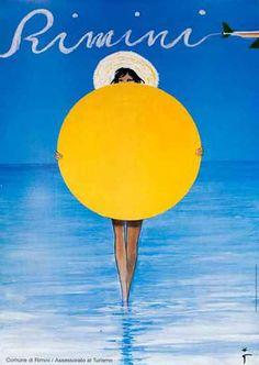Vintage Italian Posters ~ #illustrator #Italian #posters ~ Italian travel