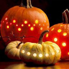 creative pumpkin carving design for halloween