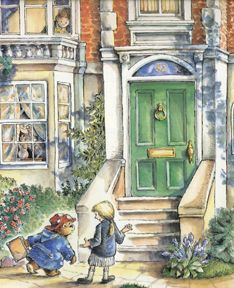 Paddington where? Author Michael Bond's daughter reveals truth of bear's famous address - 32 Windsor Gardens Oso Paddington, Children's Book Illustration, Book Illustrations, Children's Literature, Windsor, Vintage Children, Childhood Memories, Childrens Books, Eeyore
