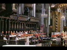 "Ralph Vaughan Williams' majestic ""Let All the World"" (1911) sung here by the St. Paul Cathedral Choir (founded in 604!) was originally titled ""Antiphon."" It is Number 5 in Ralph Vaughan Williams collection entitled ""5 Mystical Songs"" (1633) settings of texts by poet George Herbert. http://bit.ly/NoI1w3"