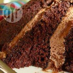 Creamy Chocolate Icing with evaporated milk - add coffee for mocha