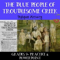 an essay on the blue people of troublesome creek Pedigree of the fugates of troublesome creek trying to find the blue people but to no avail until patrick and rachel ritchie, a brother and.
