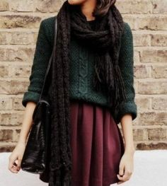 Wintery outfit