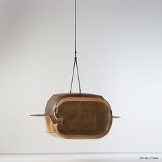 M.Heloise Manta Ray Hanging Chair by Porky hefer, photo by justin Patrick