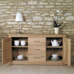 mobel oak large sideboard wood oak furniture home decor interior