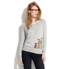Mini-Meerkat Pullover : sale   Madewell