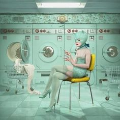 Thank God I don't have to go to the laundromat  Ray Caesar - Launderette
