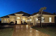 Plan W66226WE: Florida, Luxury, Premium Collection, Mediterranean, Photo Gallery House Plans & Home Designs