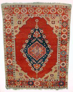 Transylvanian rug, 17th century