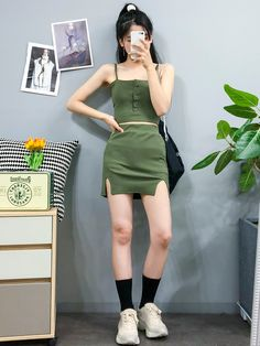 Look at this Fashionable korean fashion trends 8065038652 Korean Fashion Trends, Korean Street Fashion, Korea Fashion, Kpop Fashion, Asian Fashion, Fashion Outfits, Fashion Photo, Fashion Ideas, Kpop Mode