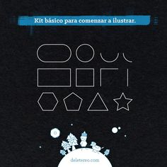 #Ilustracion #KitBasico Lo básico para convertirte en un ilustrador.
