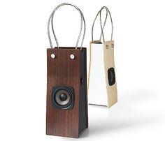木製ショッピングバッグのような、日本製のスピーカー « WIRED.jp Archives