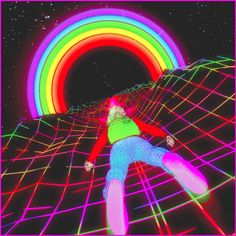 The perfect Trippy Psychedelic Rainbow Animated GIF for your conversation. Discover and Share the best GIFs on Tenor. Trippy Gif, Trippy Wallpaper, Psychedelic Art, Trippy Pictures, Les Gifs, Vaporwave Art, Acid Trip, Psy Art, Aesthetic Gif