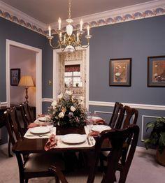 Comforting dining room - plan 024D-0042 - houseplansandmore.com
