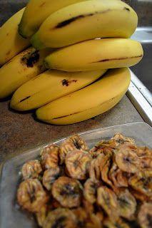 Simple Savory & Satisfying: Banana Chips