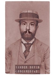 If I got arrested in 1864 #NYC, this would be my #mugshot. http://c.bbca.me/2fn2 Try the app yourself (via @CopperTV and @BBCAmerica)