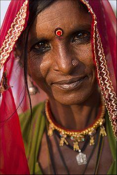 Bhopa woman from Pushkar